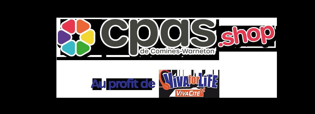 Ventes du CPAS de Comines-Warneton au profit de Viva for Life