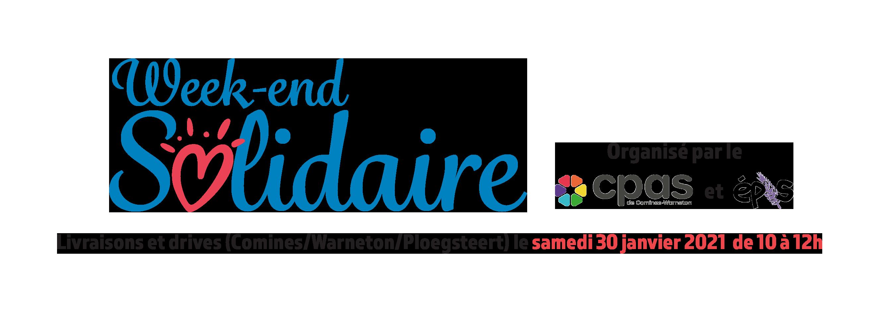 Week-end Solidaire Comines-Warneton – Drive et Livraisons